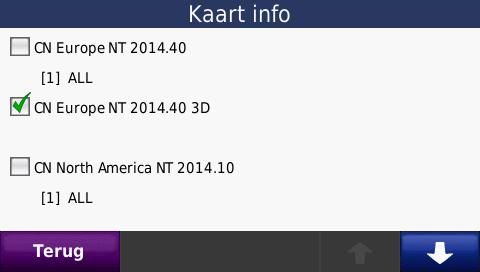 Garmin 2014.40 routering staat uit
